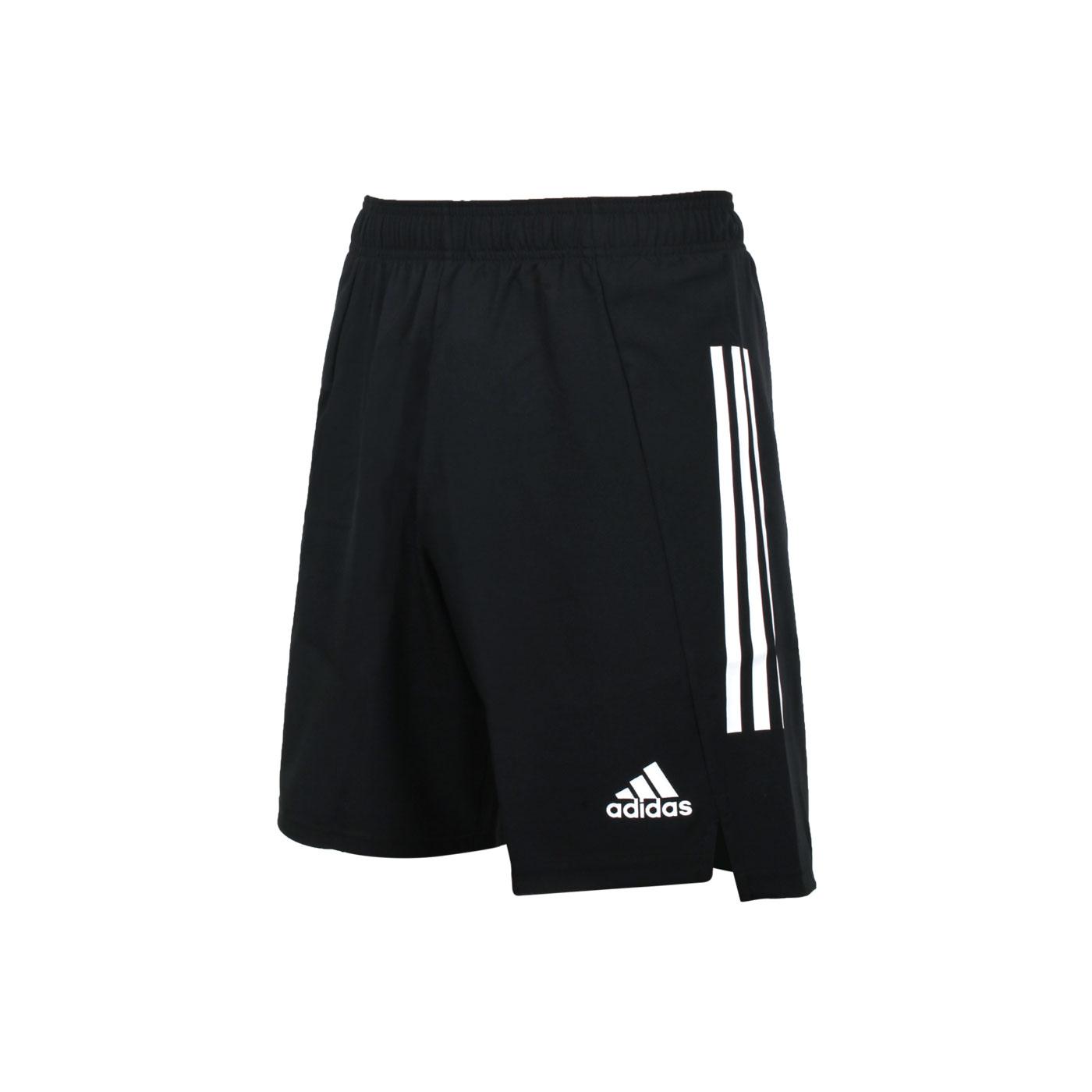 ADIDAS 男款運動短褲 GJ6804 - 黑白