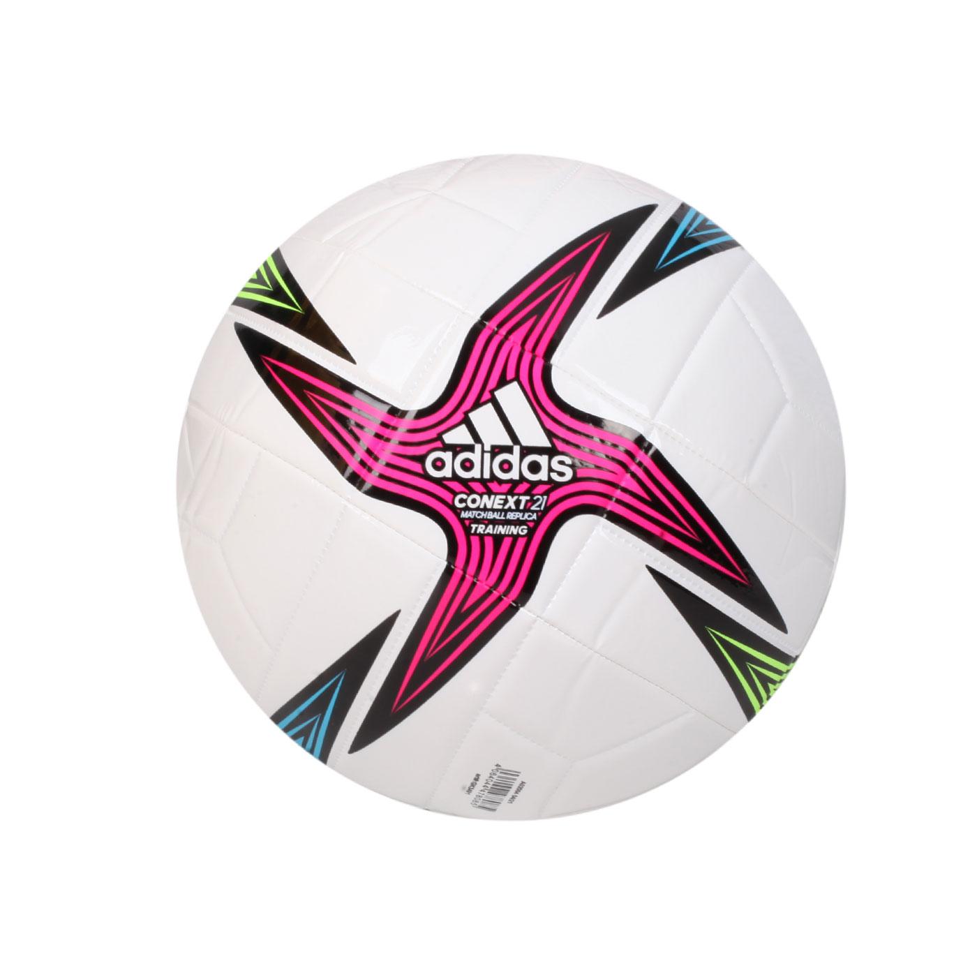 ADIDAS 足球 GK3491 - 白藍綠桃紅
