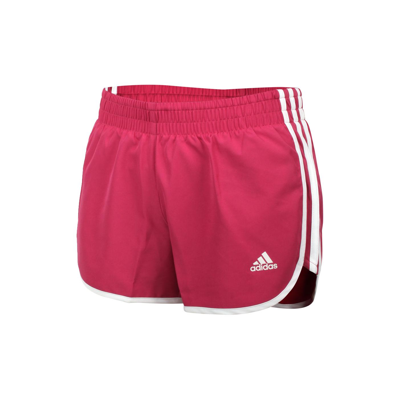 ADIDAS 女款慢跑短褲 GK5263 - 莓果紫