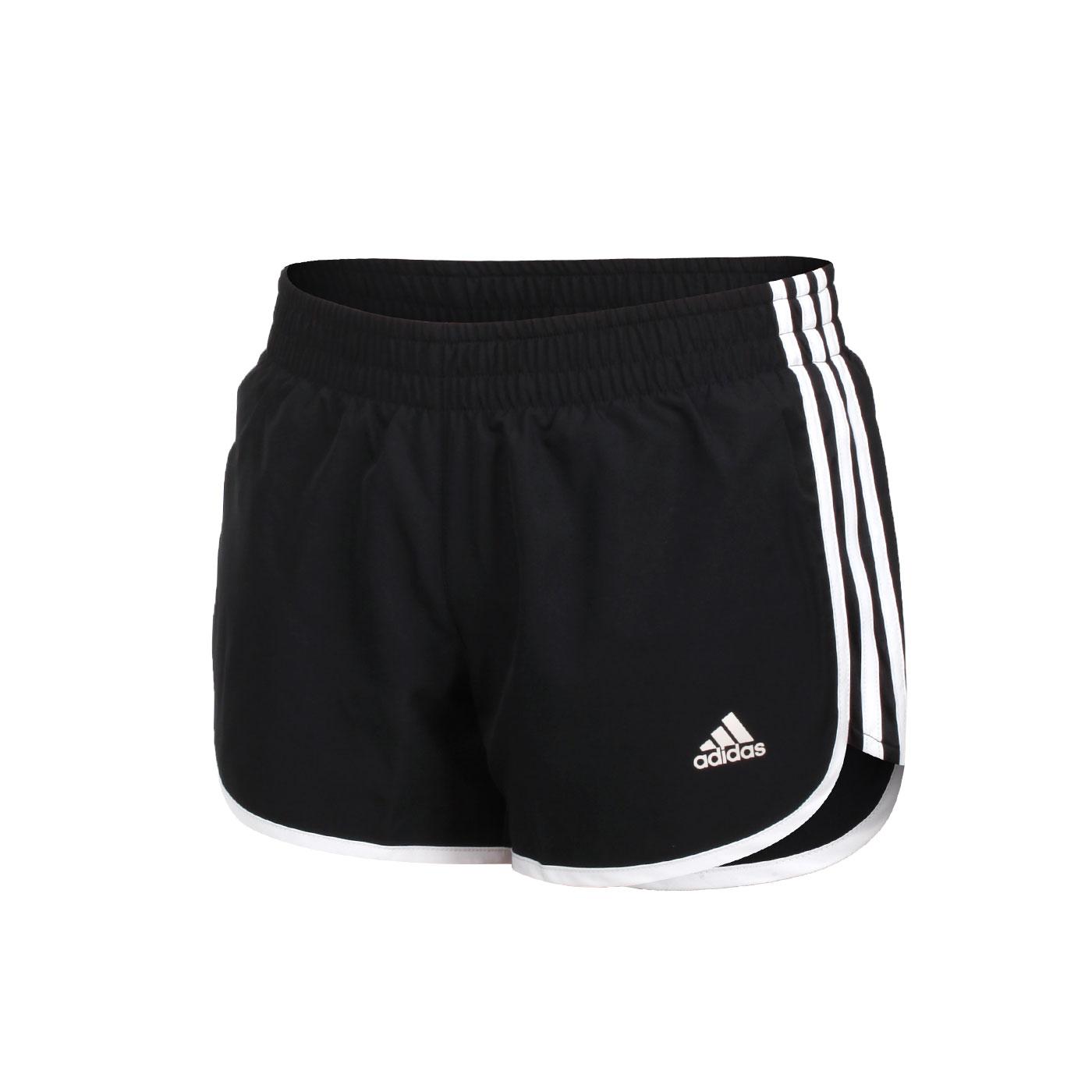 ADIDAS 女款運動短褲 GK5265 - 黑白