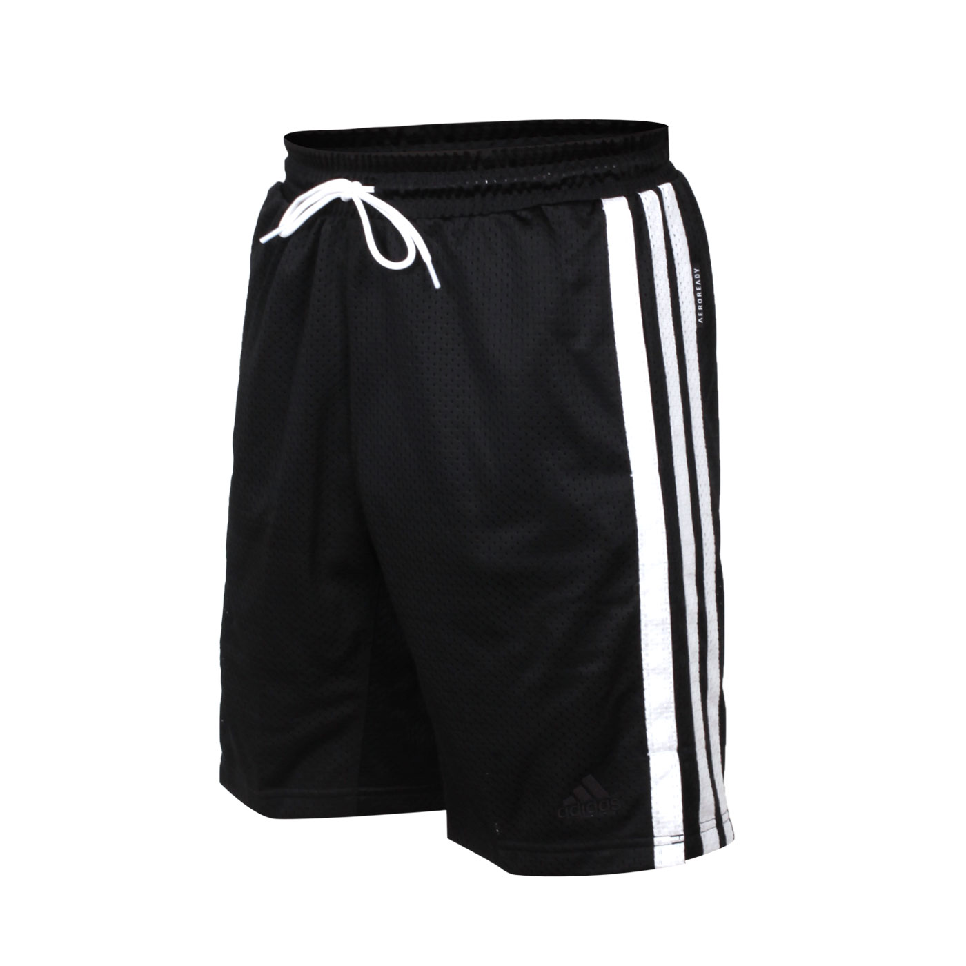 ADIDAS 男款運動短褲 GK8382 - 黑白