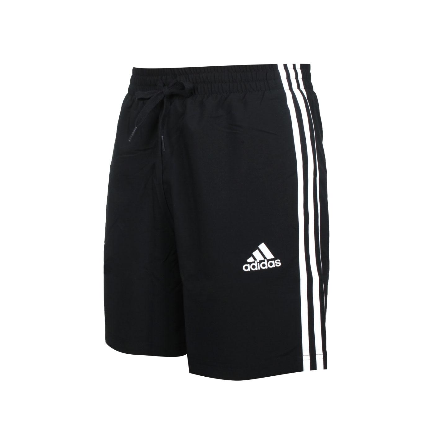 ADIDAS 男款運動短褲 GL0022 - 黑白