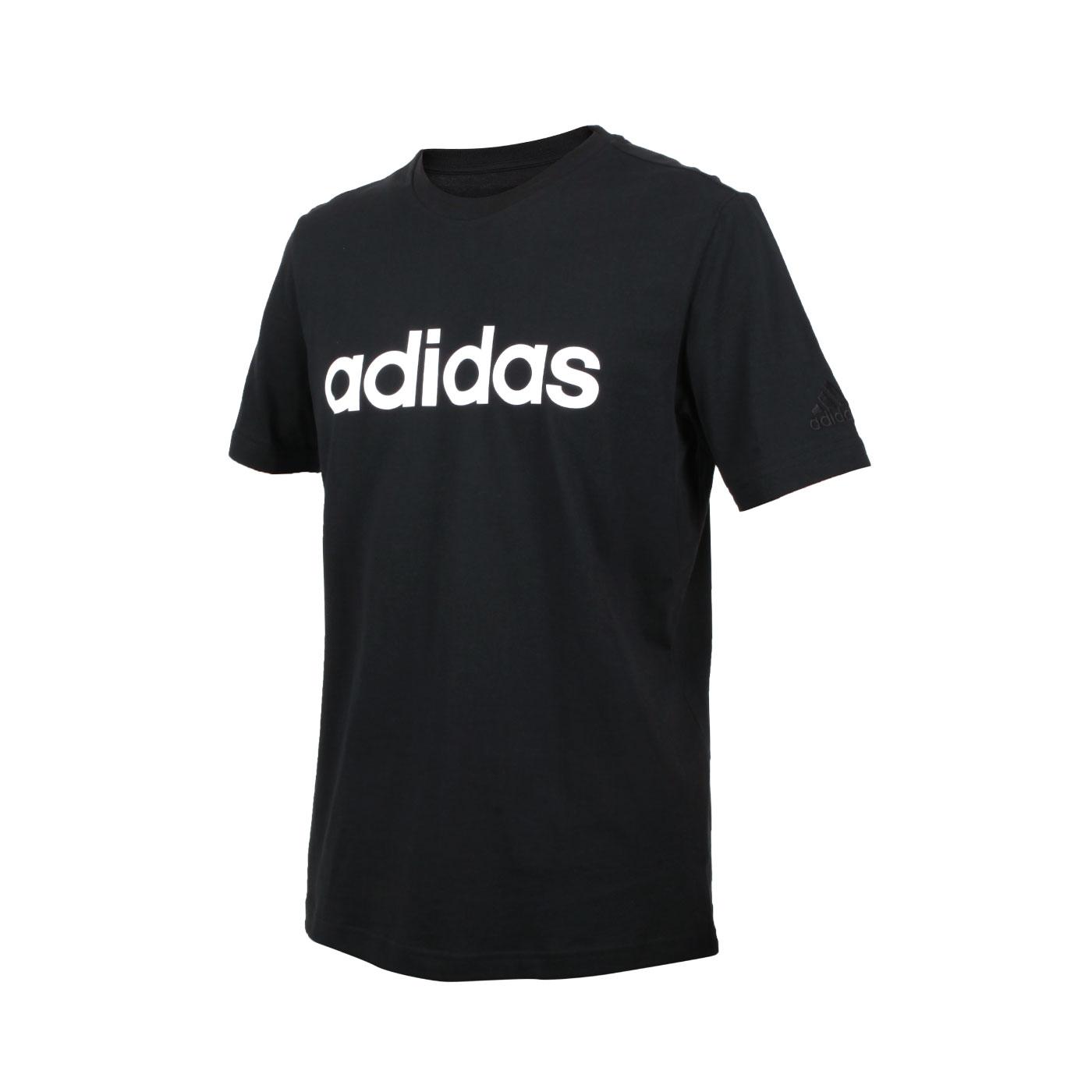 ADIDAS 男款短袖T恤 GL0057 - 黑白
