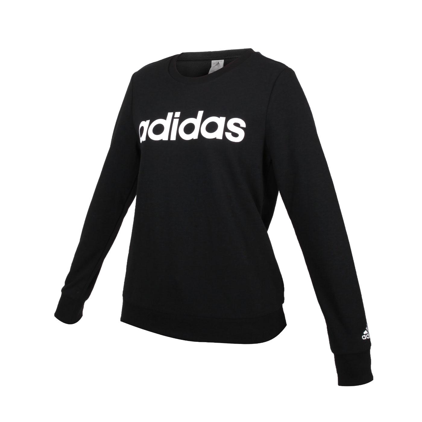 ADIDAS 女款長袖T恤 GL0718 - 黑白