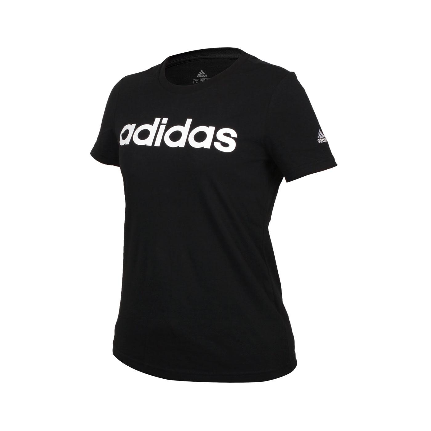 ADIDAS 女款短袖T恤 GL0769 - 黑白