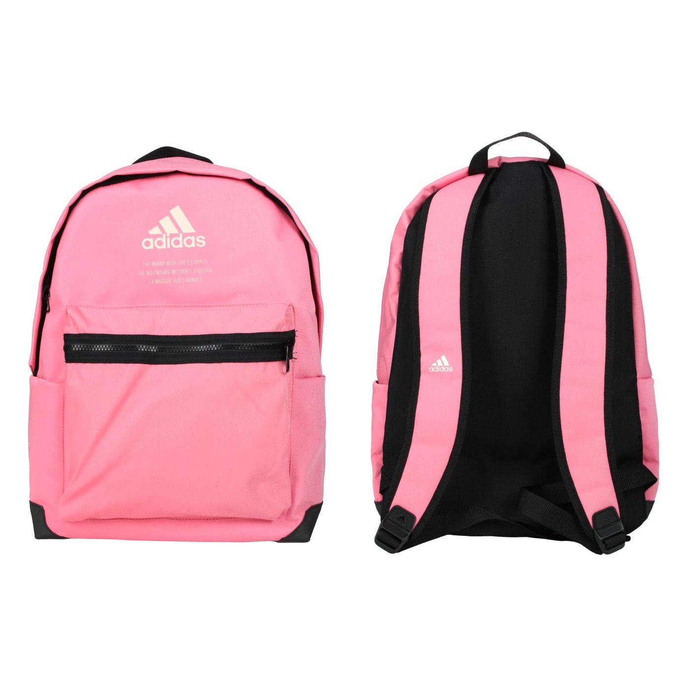ADIDAS 後背包 GL0892 - 粉紅黑