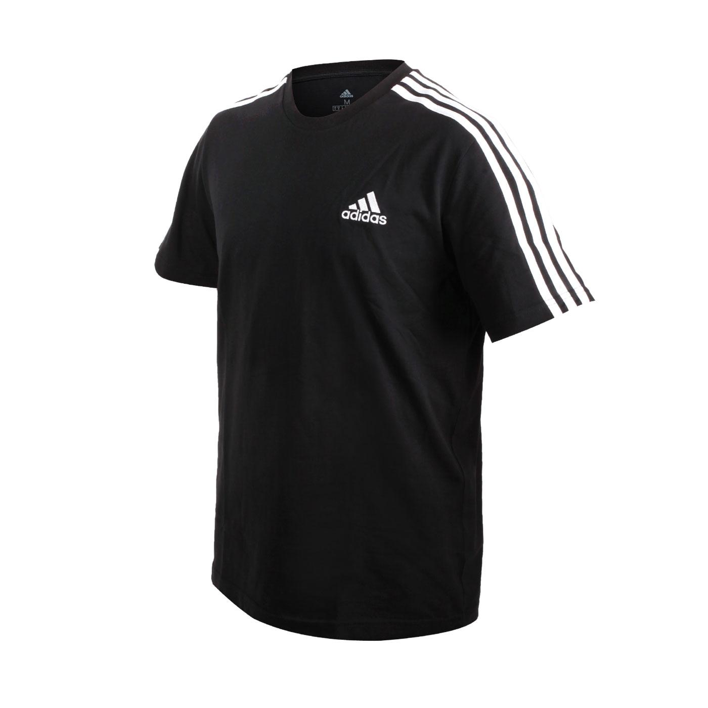 ADIDAS 男款短袖T恤 GL3732 - 黑白
