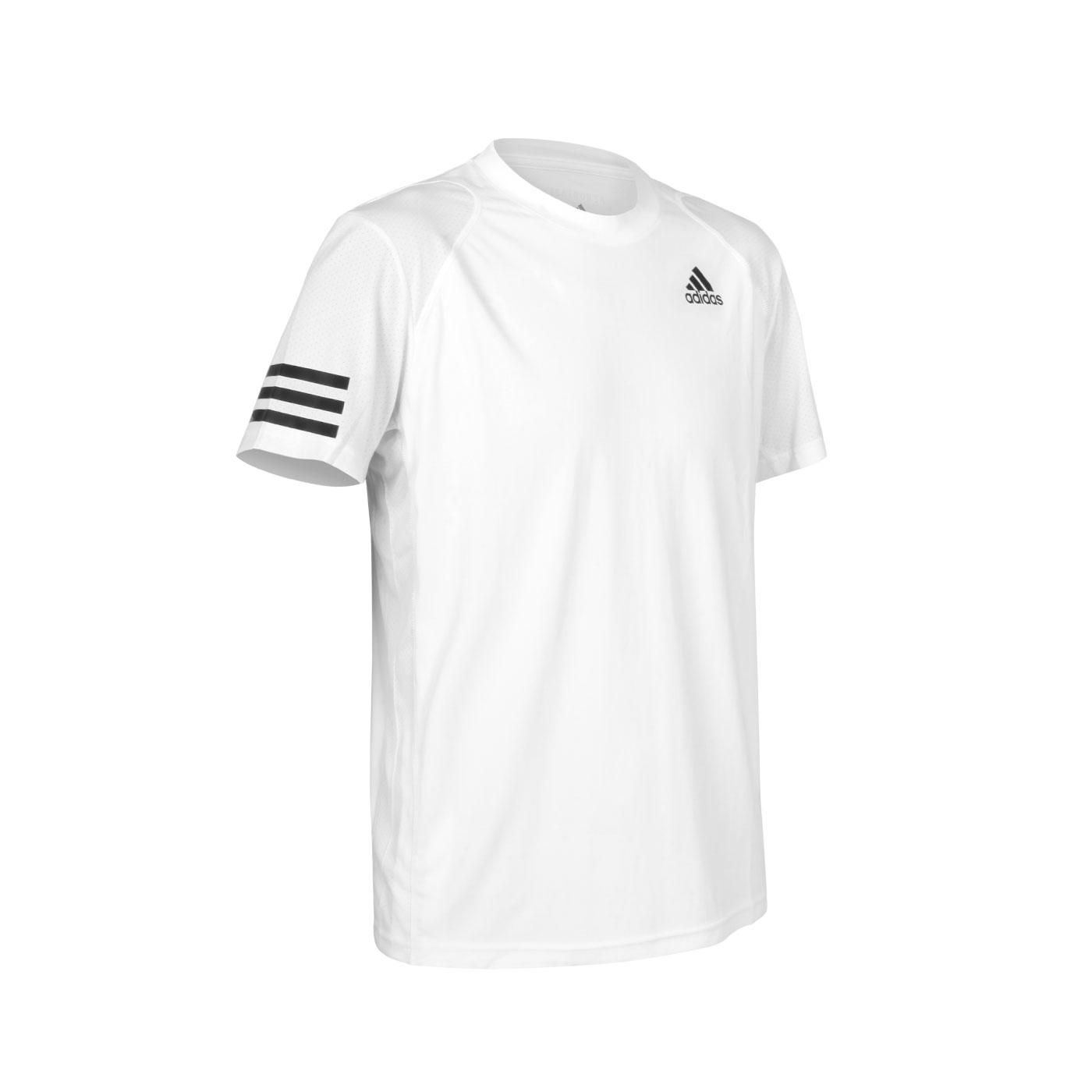 ADIDAS 男款短袖T恤 GL5401 - 白黑