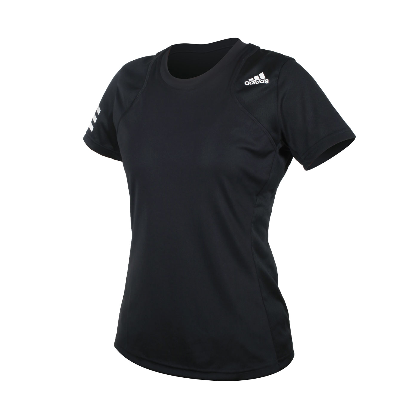 ADIDAS 女款短袖T恤 GL5530 - 黑白