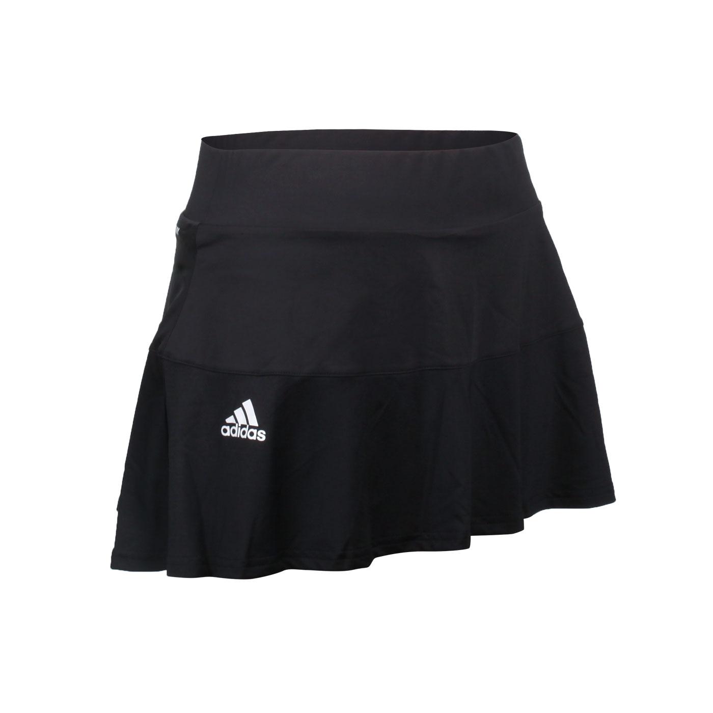 ADIDAS 女款運動短裙 GL6203 - 黑白
