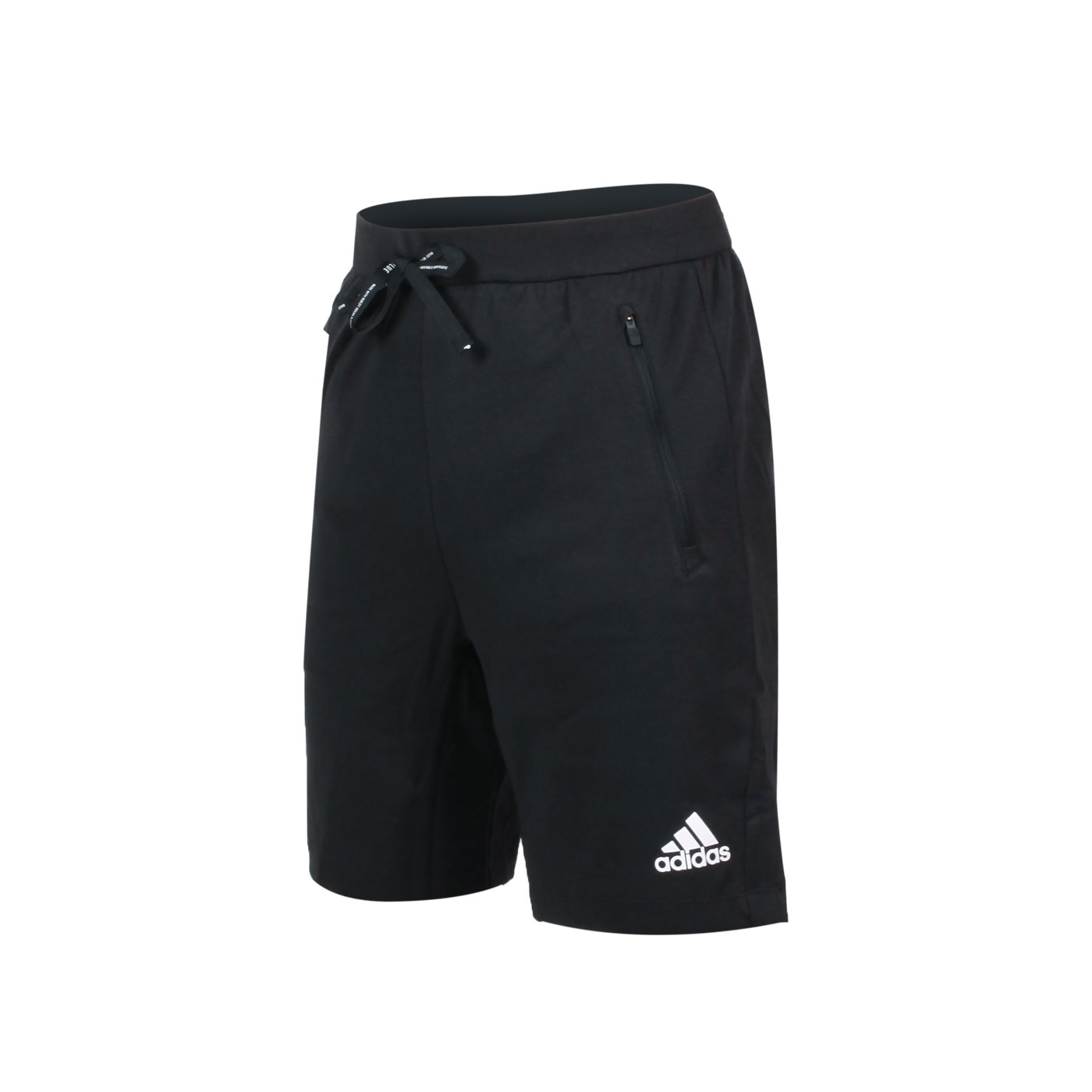 ADIDAS 男款運動短褲 GM0129 - 黑白