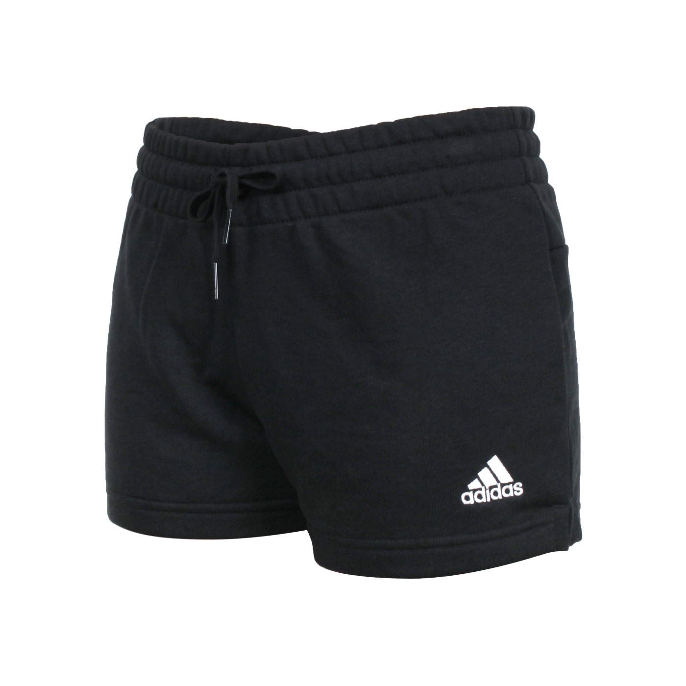 ADIDAS 女款運動短褲 GM5601 - 黑白