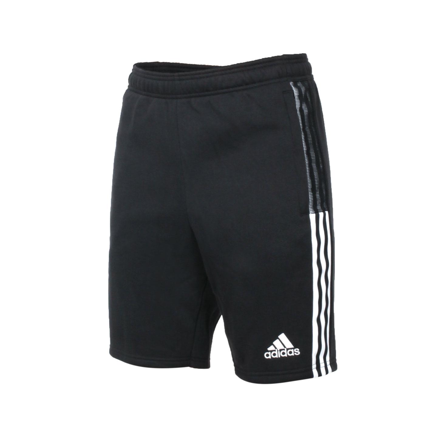 ADIDAS 男款運動短褲 GM7345 - 黑白