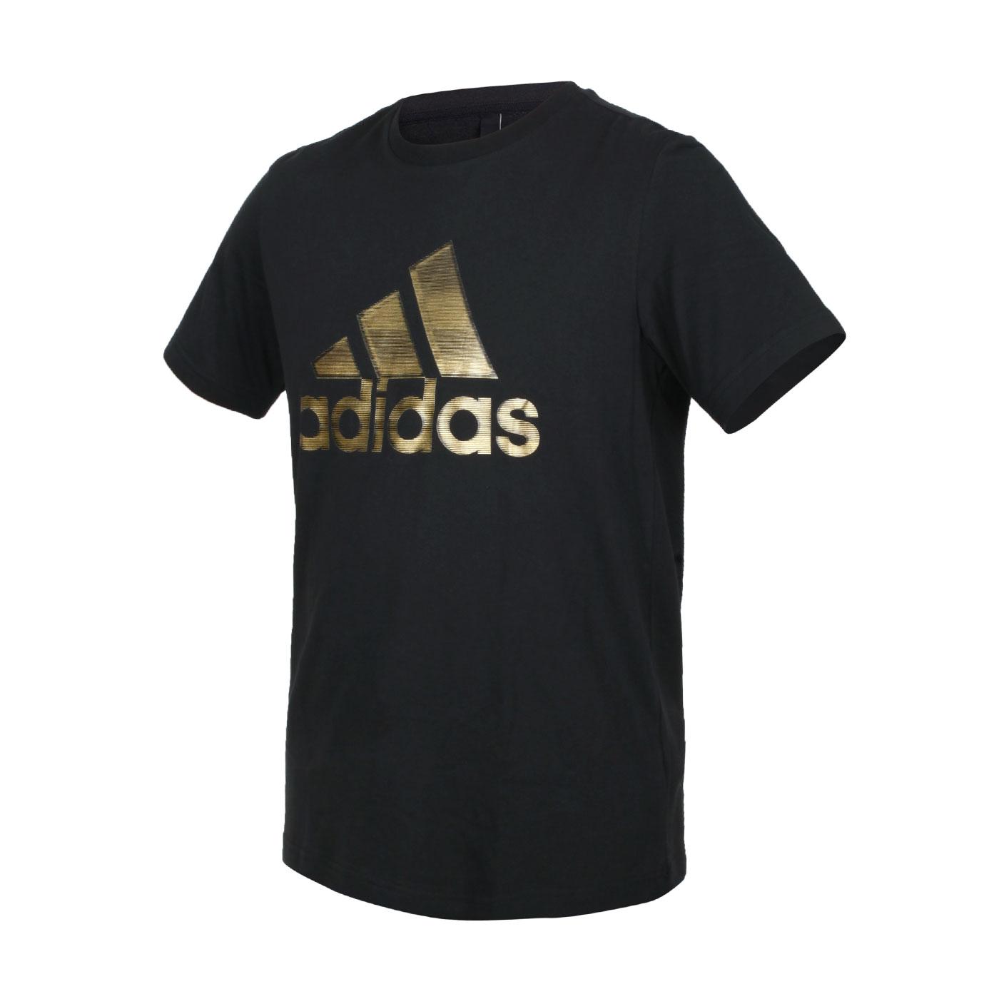 ADIDAS 男款短袖T恤 GP0969 - 黑金