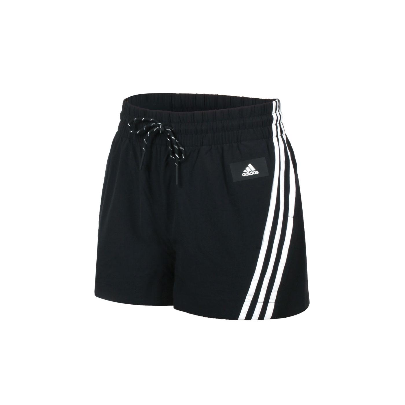 ADIDAS 女款運動短褲 GP7340 - 黑白