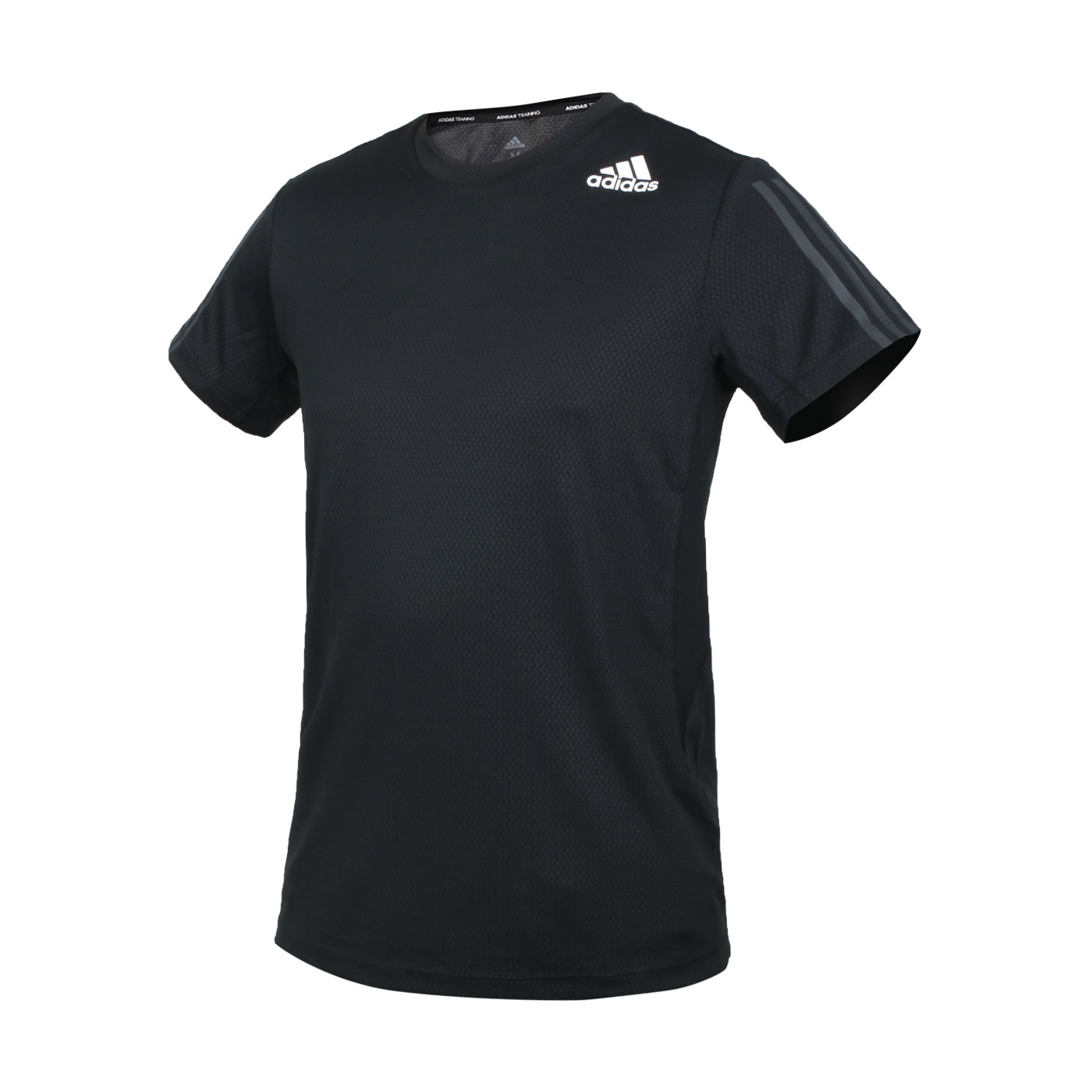 ADIDAS 男款短袖T恤 GP7653 - 黑白