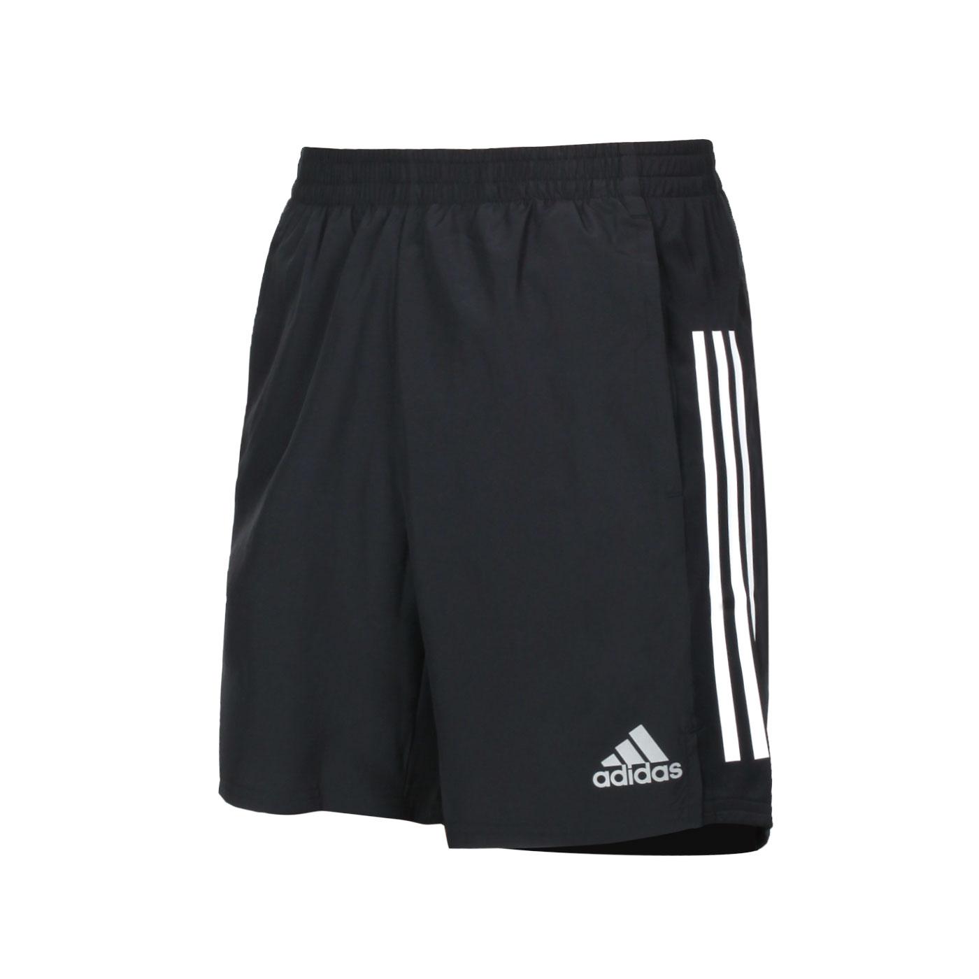 ADIDAS 男款運動短褲 GQ9352 - 黑白