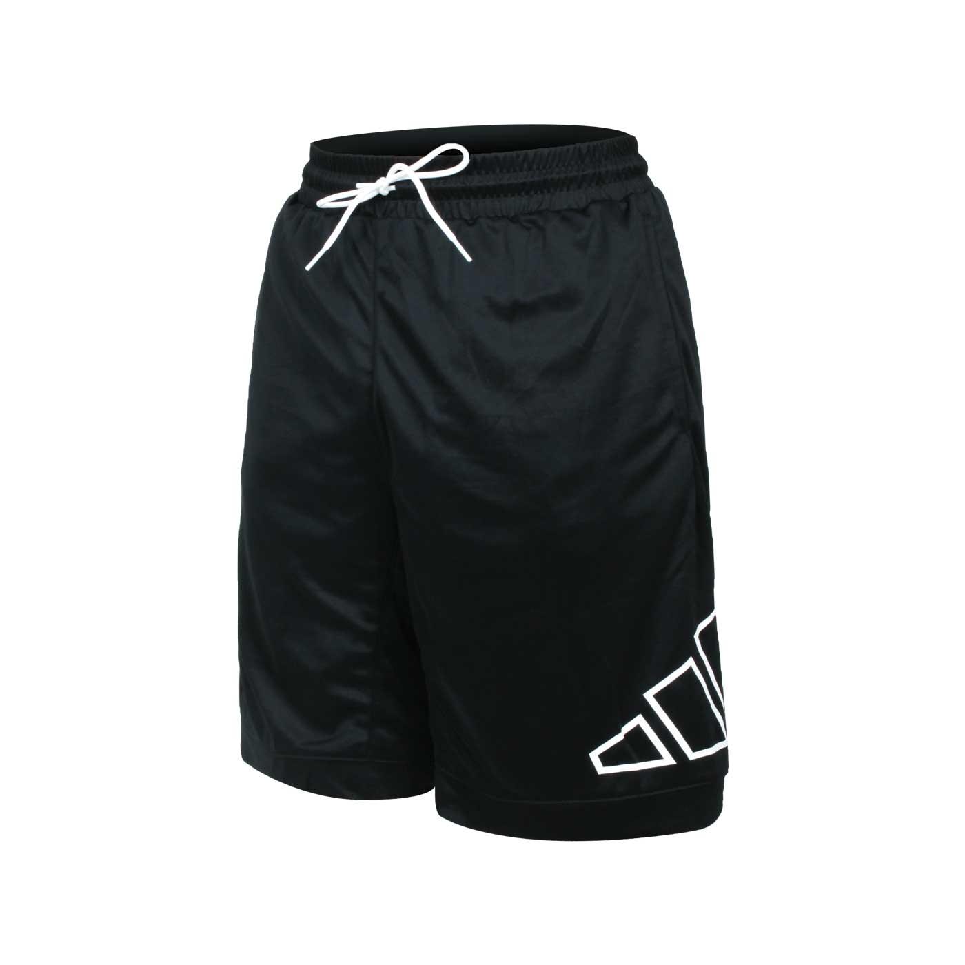 ADIDAS 男款運動短褲 GT3018 - 黑白