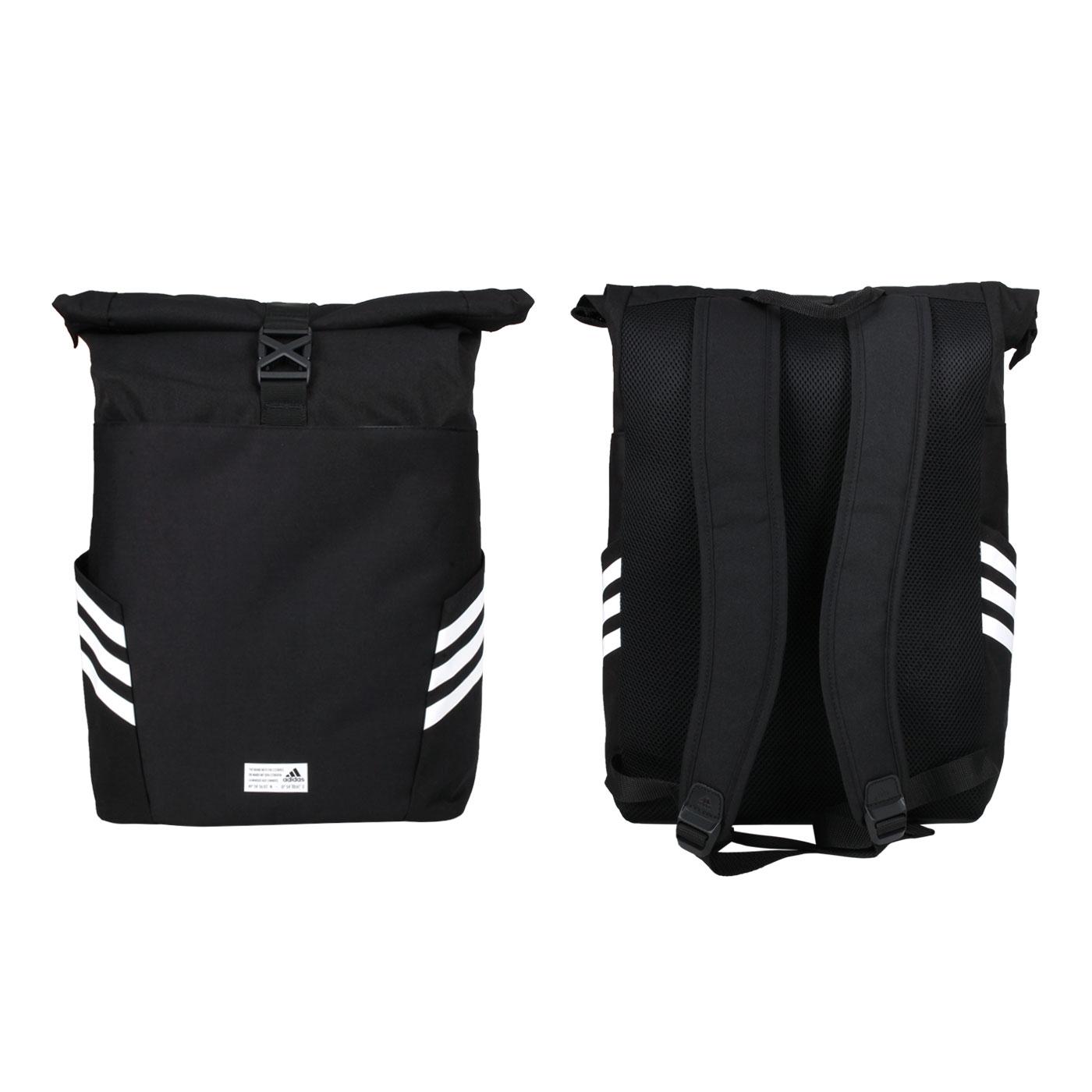 ADIDAS 捲疊式背包 GU0873 - 黑白