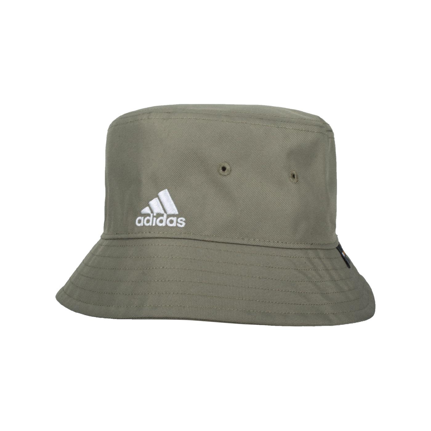 ADIDAS 漁夫帽 GV6548 - 軍綠白