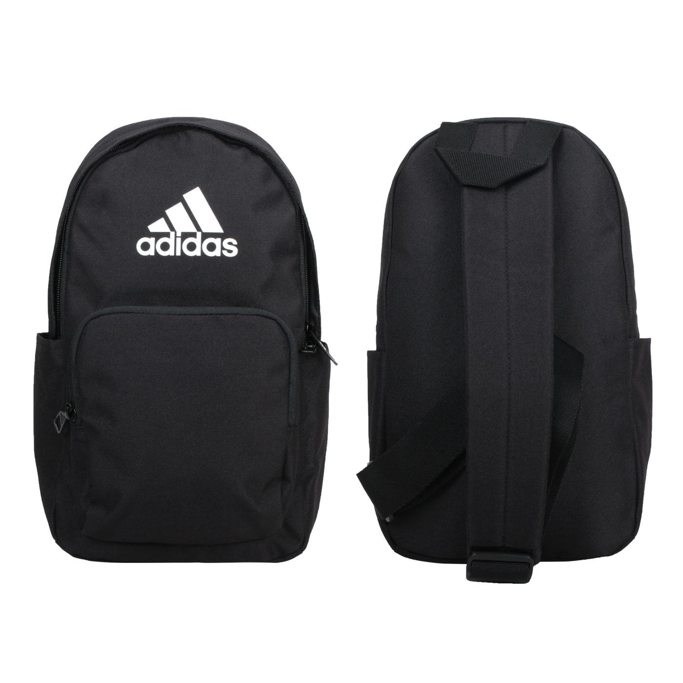 ADIDAS 中型側背包 H30358 - 黑白
