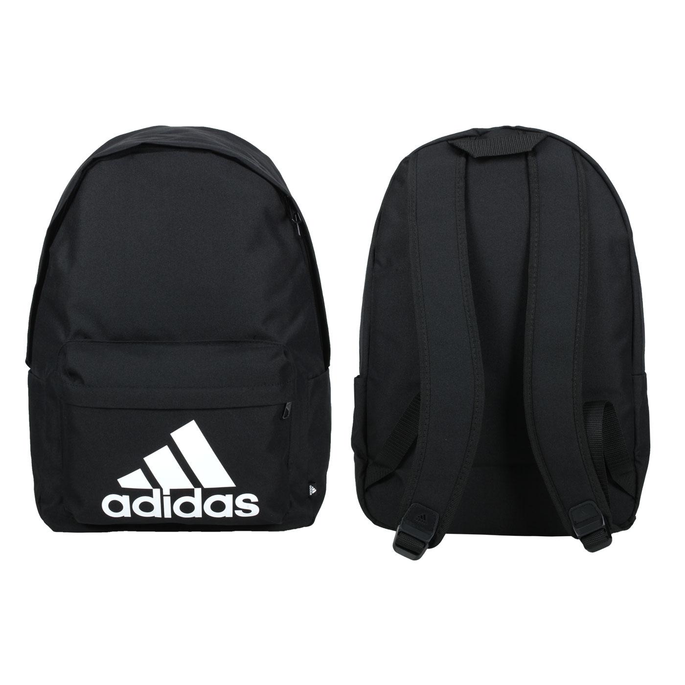 ADIDAS 大型後背包 H34809 - 黑白