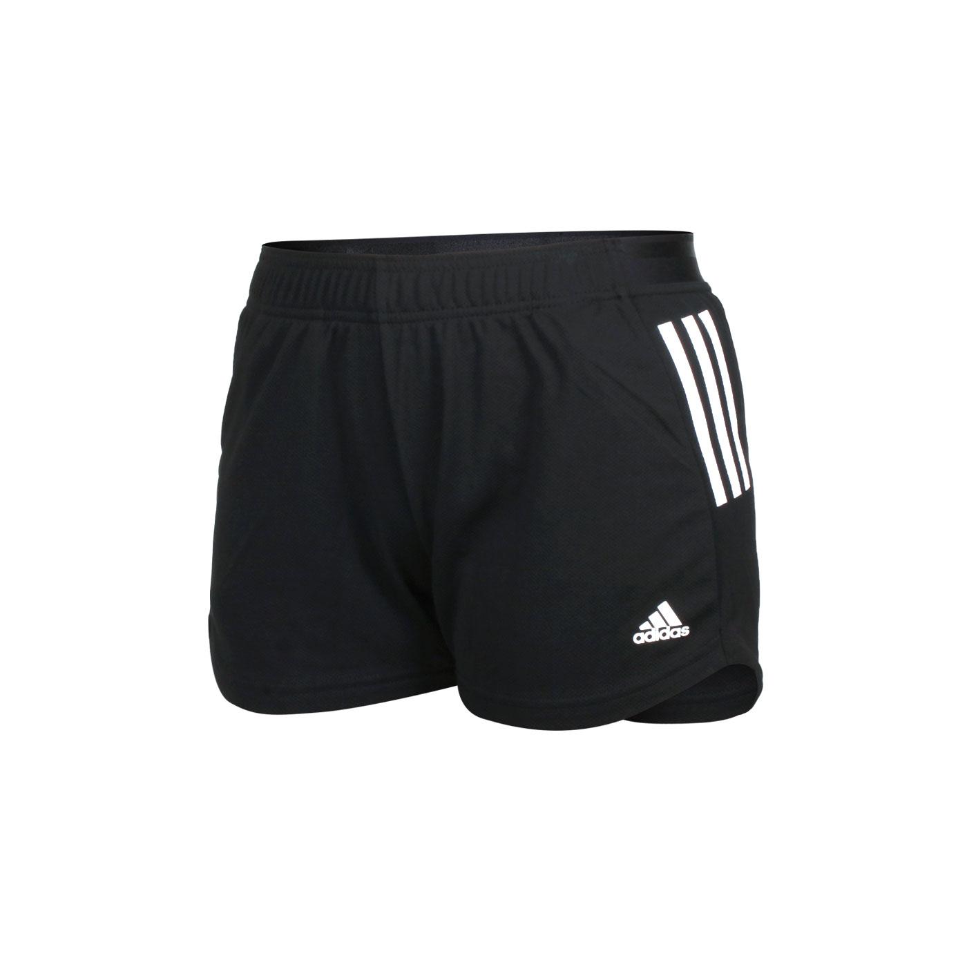 ADIDAS 女款運動短褲 H45575 - 黑白