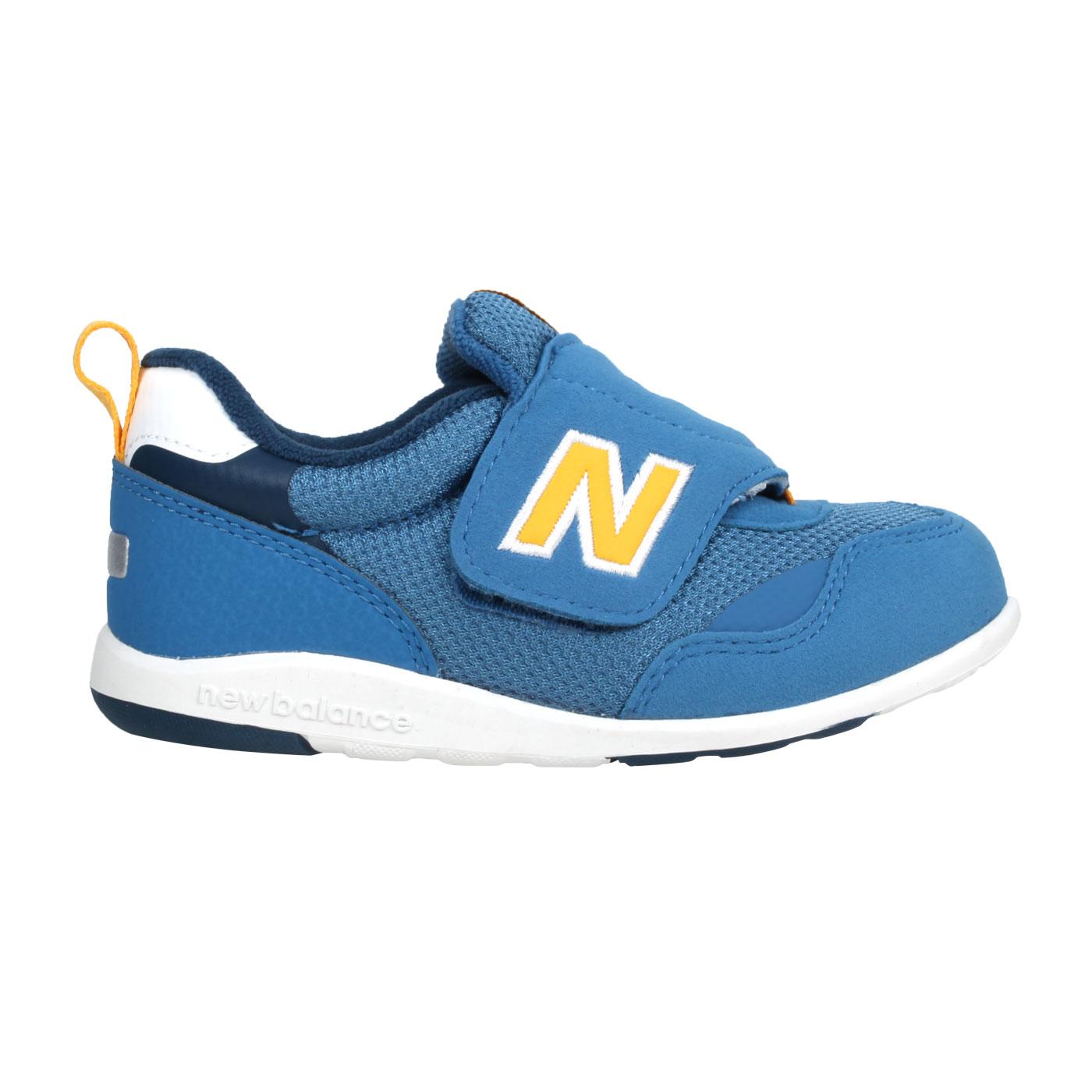NEW BALANCE 小童復古慢跑鞋 IT313FBY - 珊瑚藍黃