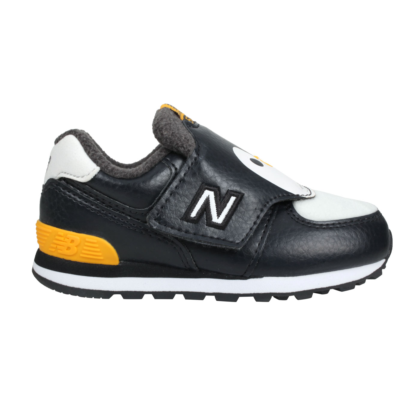 NEW BALANCE 小童休閒鞋 IV574AQP - 黑黃白