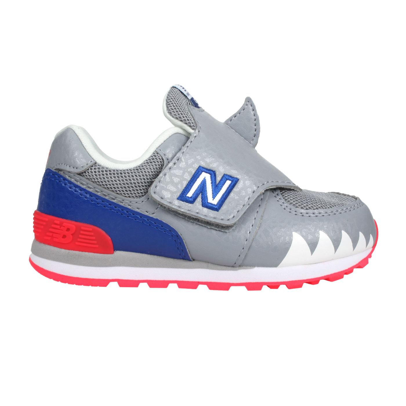 NEW BALANCE 小童休閒鞋 IV574AQS - 灰藍紅