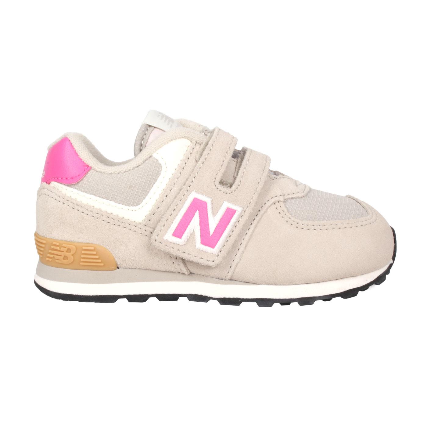 NEW BALANCE 小童休閒運動鞋 IV574ME2 - 淺灰桃紅