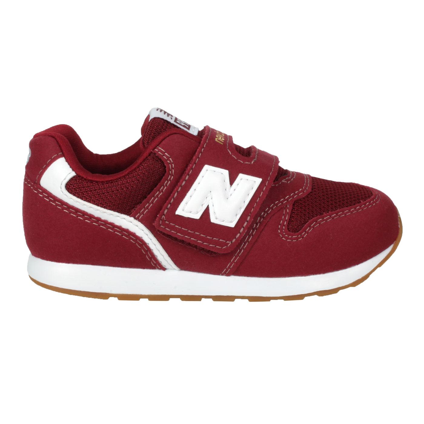 NEW BALANCE 小童休閒運動鞋-WIDE IZ996CPH - 酒紅白