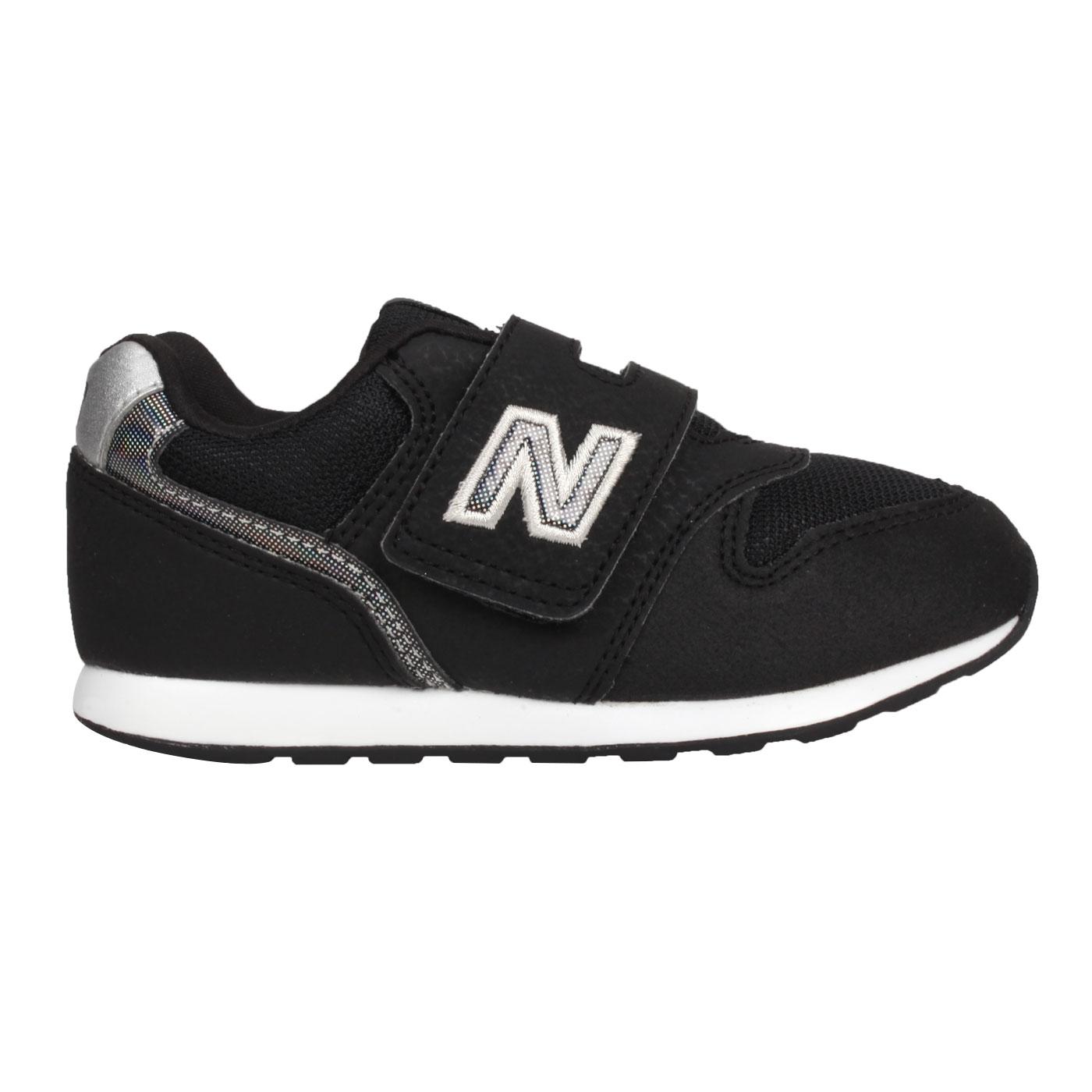 NEW BALANCE 小童運動休閒鞋-WIDE IZ996HBK - 黑銀