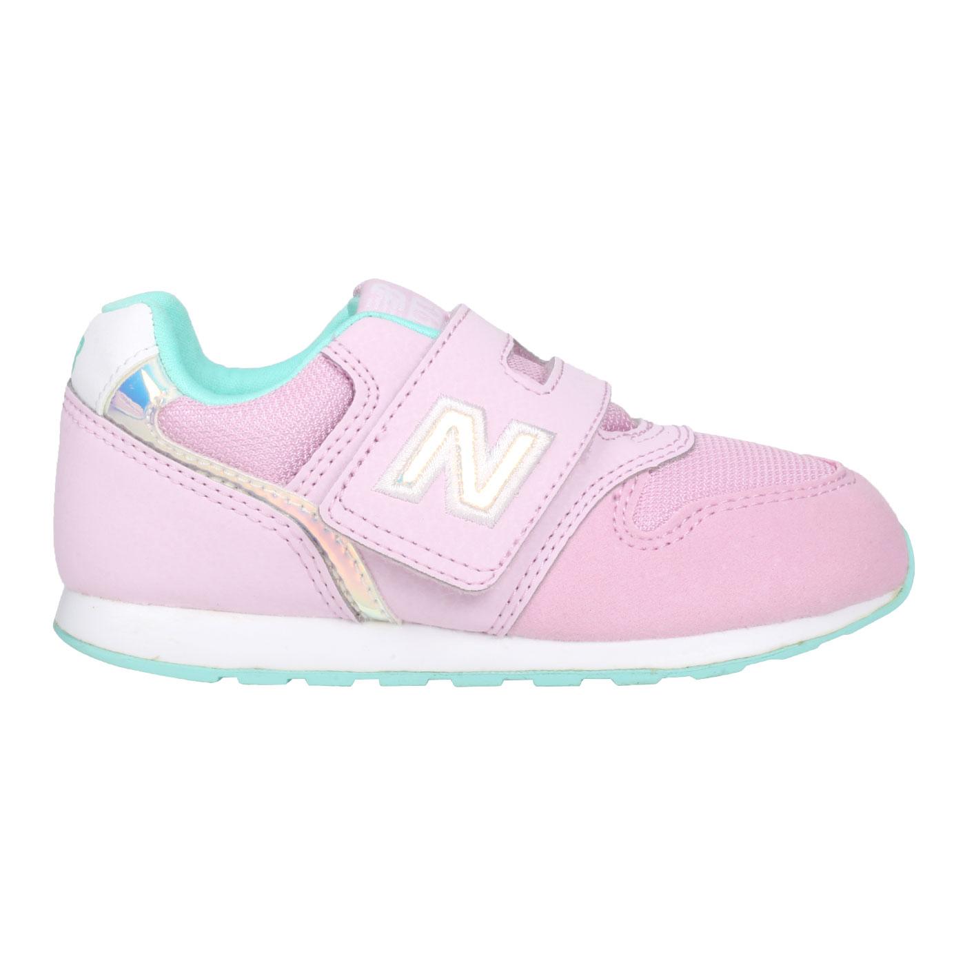 NEW BALANCE 小童運動休閒鞋-WIDE IZ996HPN - 粉紅湖水藍