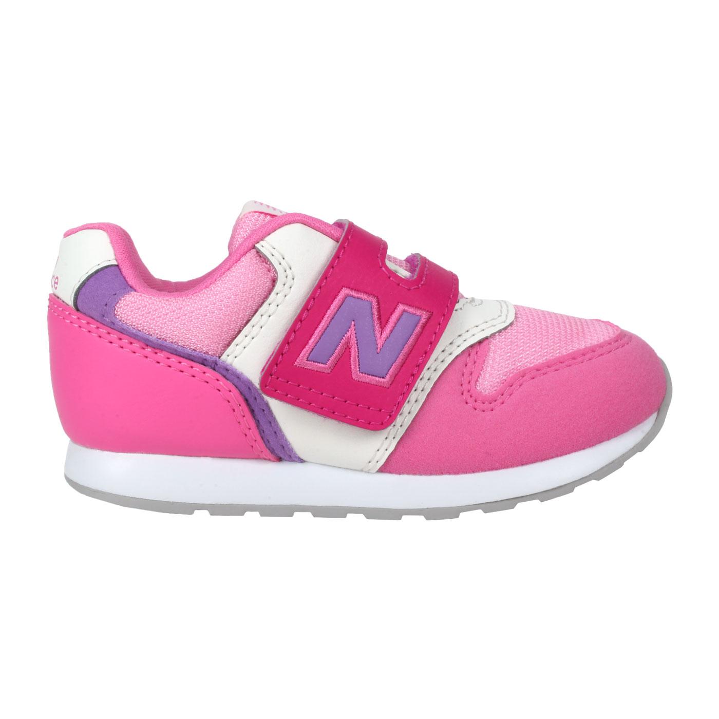 NEW BALANCE 小童休閒運動鞋-WIDE IZ996MPP - 桃紅紫