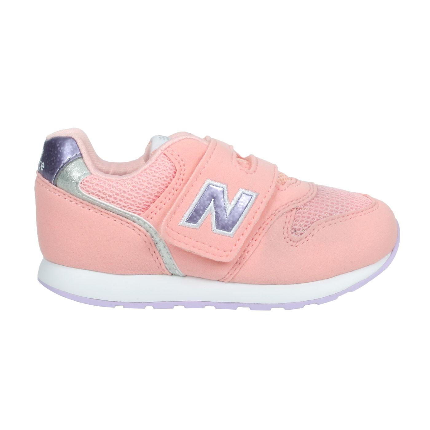 NEW BALANCE 小童休閒運動鞋-WIDE IZ996UPN - 粉橘紫