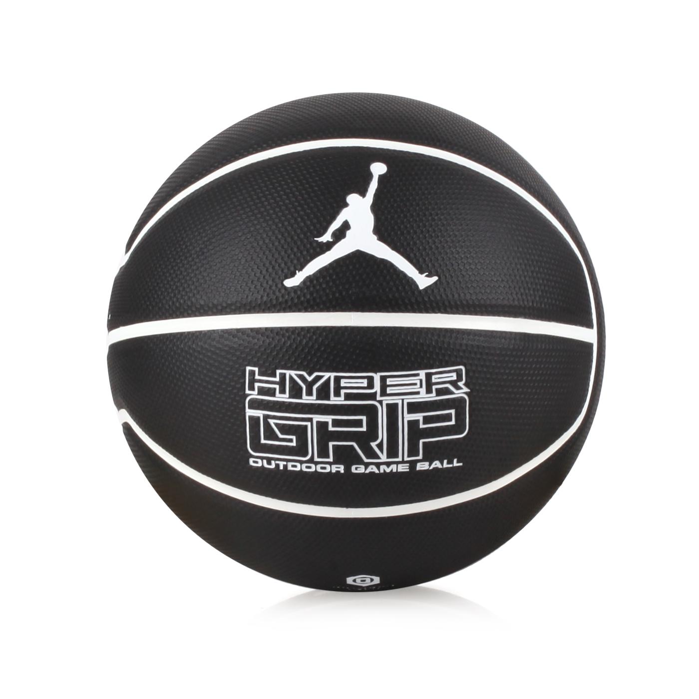 NIKE JORDAN HYPER GRIP 4P 7號籃球 J000184409207 - 黑白