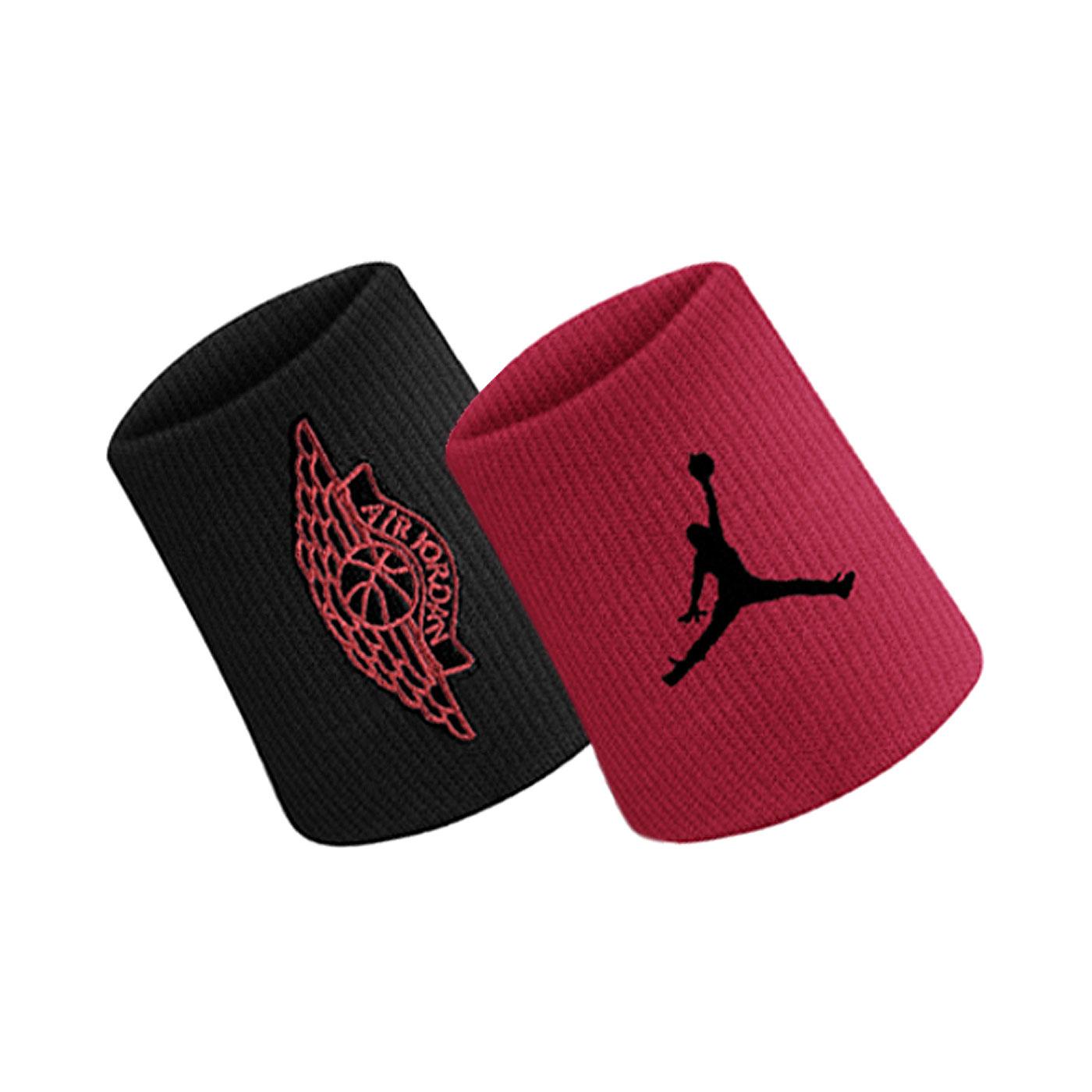 NIKE JORDAN WINGS 2.0 腕帶 J0003598092OS - 黑紅