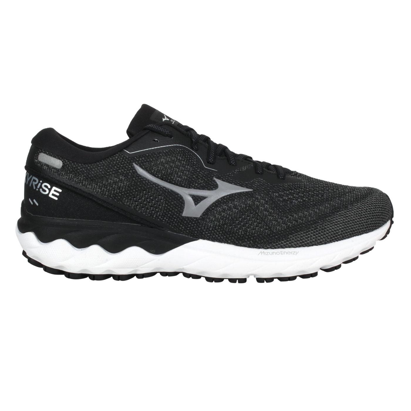 MIZUNO 男款慢跑鞋  @WAVE SKYRISE 2@J1GC210953 - 灰黑銀