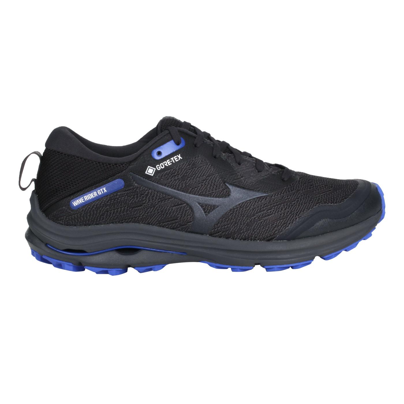 MIZUNO 男款慢跑鞋  @WAVE RIDER GTX@J1GC217913 - 灰紫藍