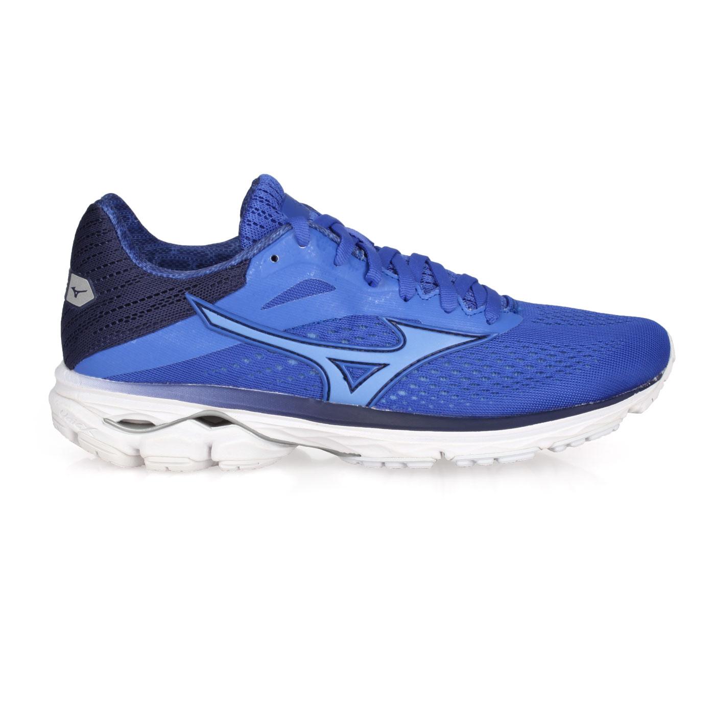 MIZUNO 女款慢跑鞋  @WAVE RIDER 23@J1GD190330 - 藍紫丈青
