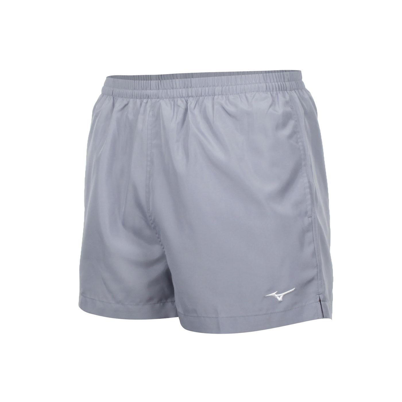 MIZUNO 路跑短褲 J2TB8A0105 - 鐵灰白