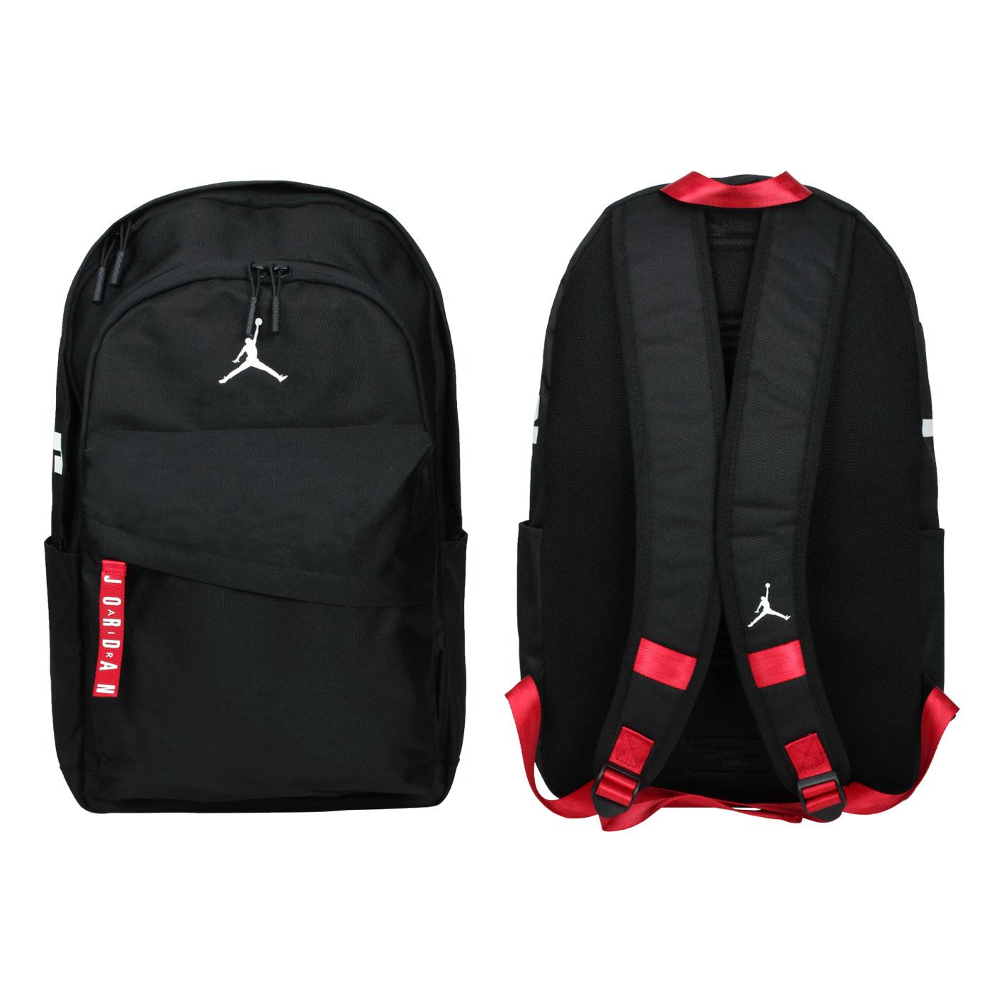 NIKE 大型雙肩包 JD2033001AD-001 - 黑紅白
