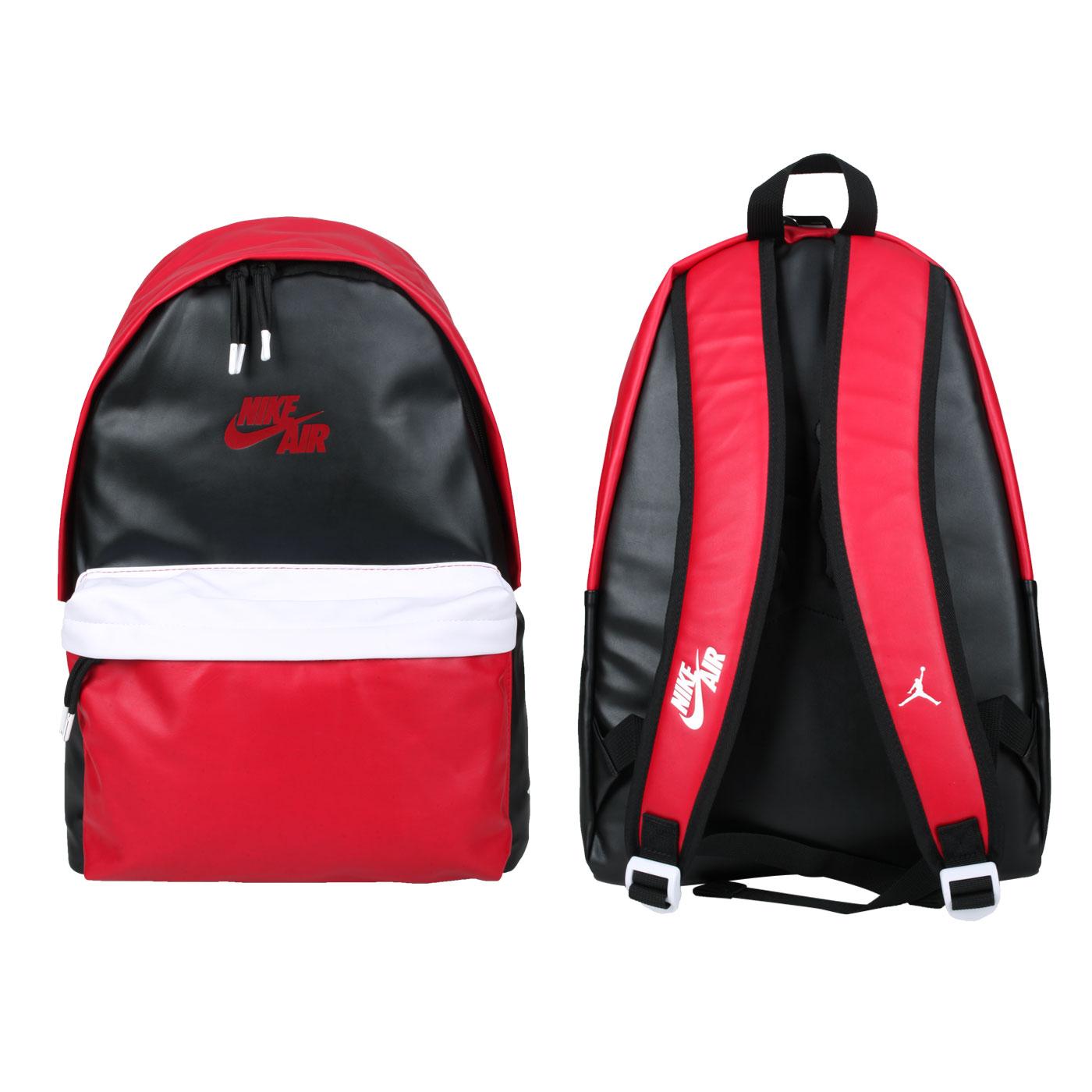 NIKE JORDAN 大型雙肩包 JD2113010AD-001 - 紅黑白