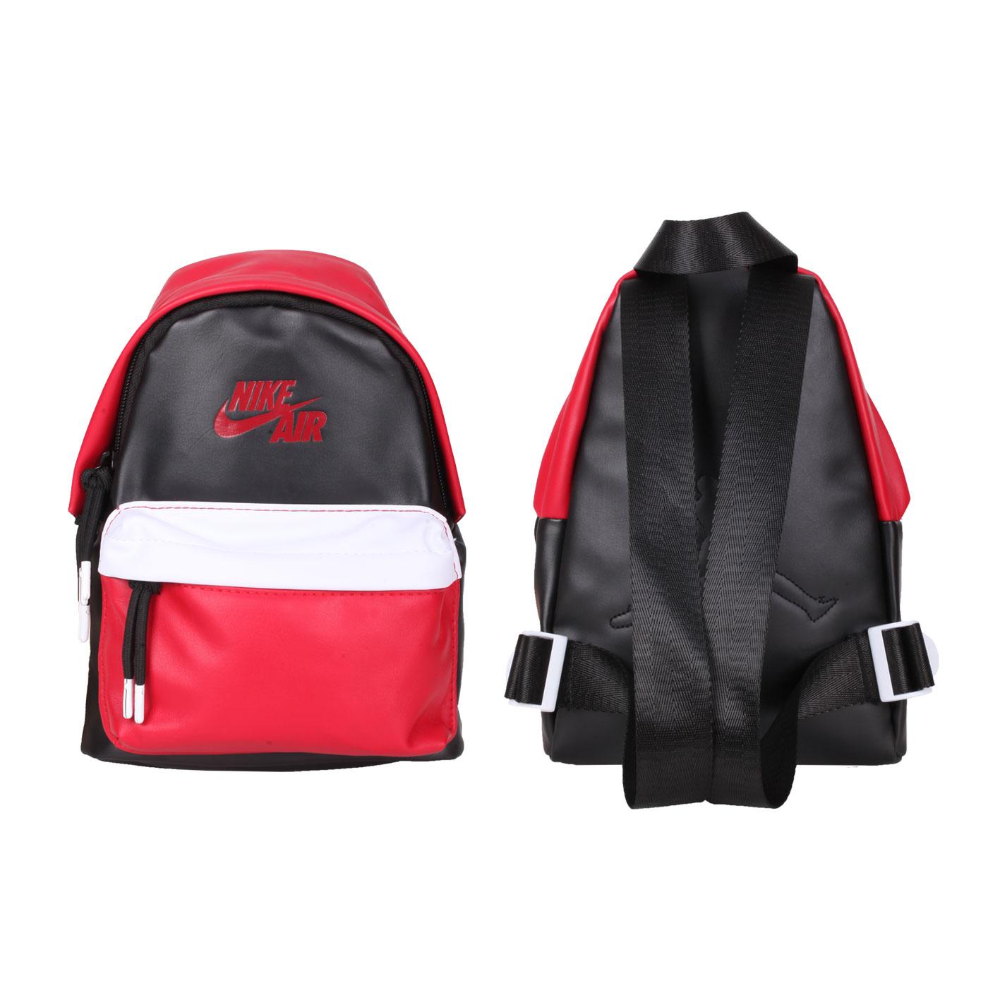 NIKE JORDAN 小型雙肩包 JD2113010TD-001 - 紅黑白