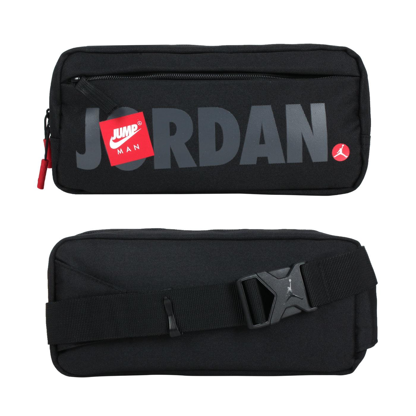 NIKE JORDAN 中型腰包 JD2113015AD-001 - 黑灰紅