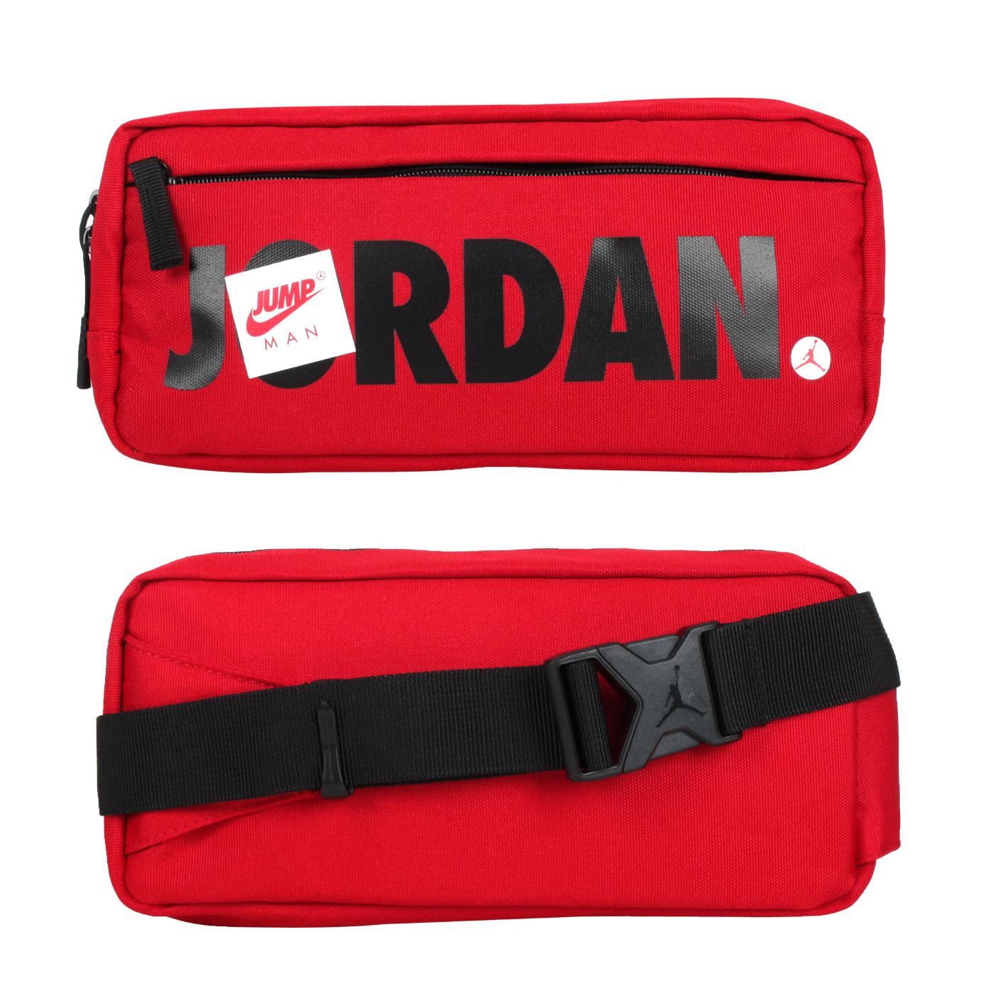 NIKE JORDAN 中型腰包 JD2113015AD-002 - 紅黑白
