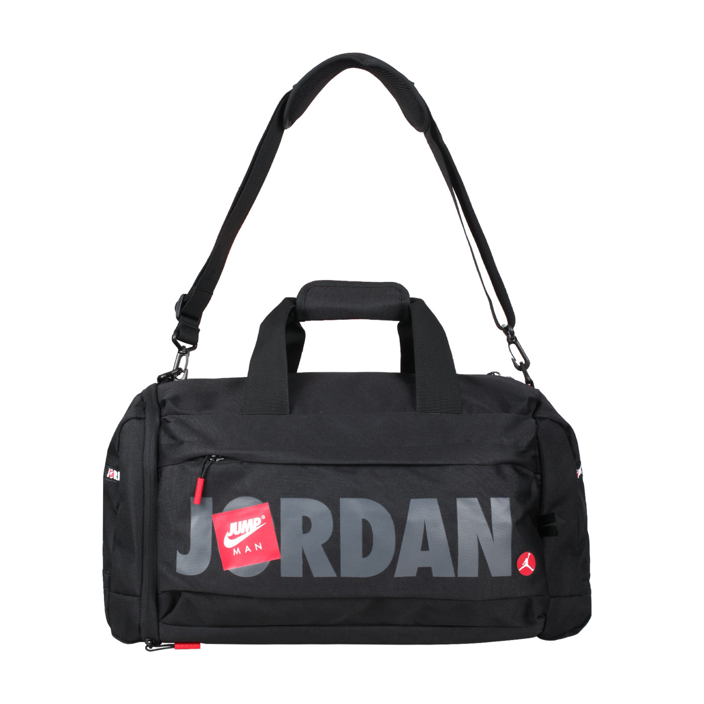 NIKE JORDAN 大型旅行袋 JD2113020AD-001 - 黑灰紅