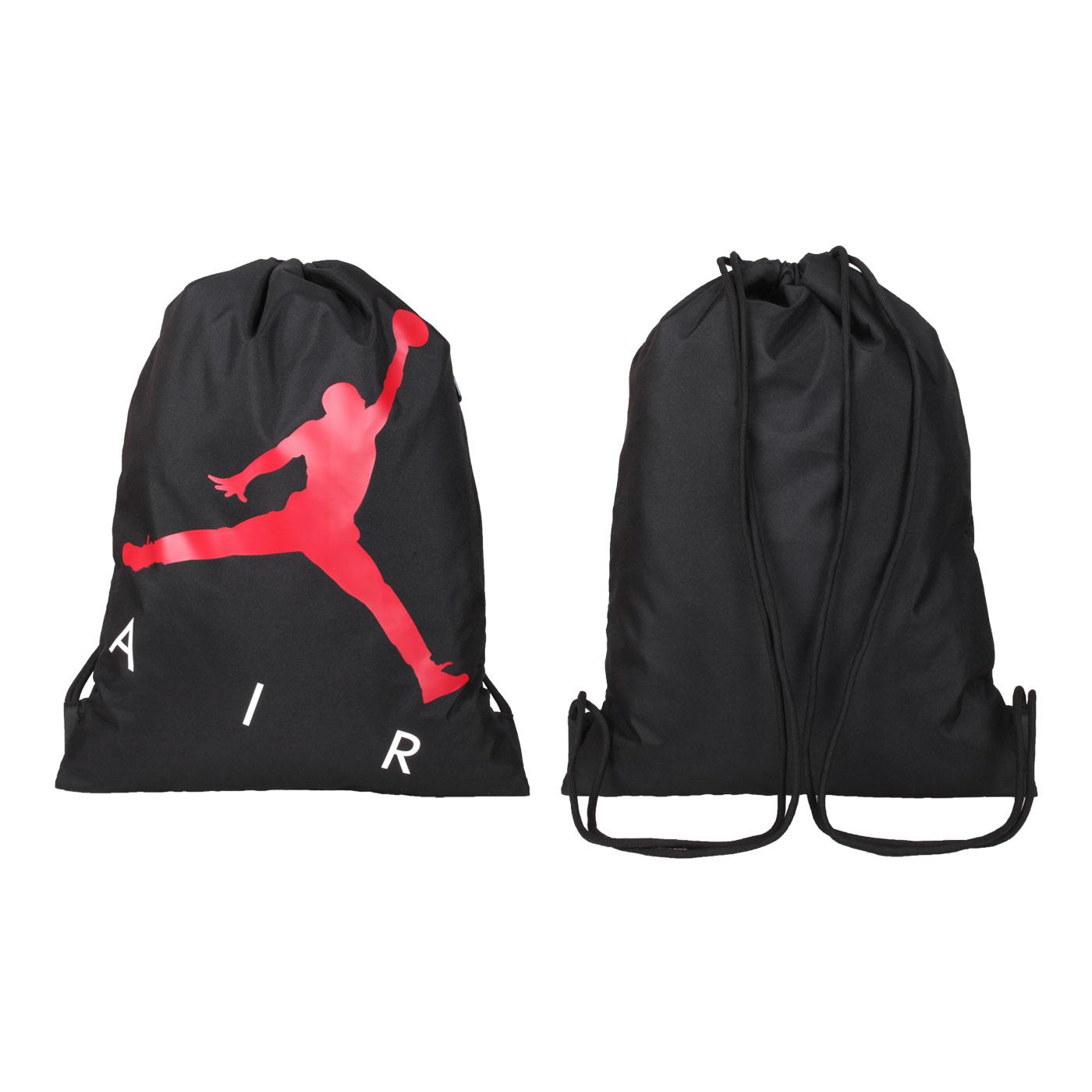 NIKE JORDAN 束口袋 JD2113040AD-001 - 黑紅白