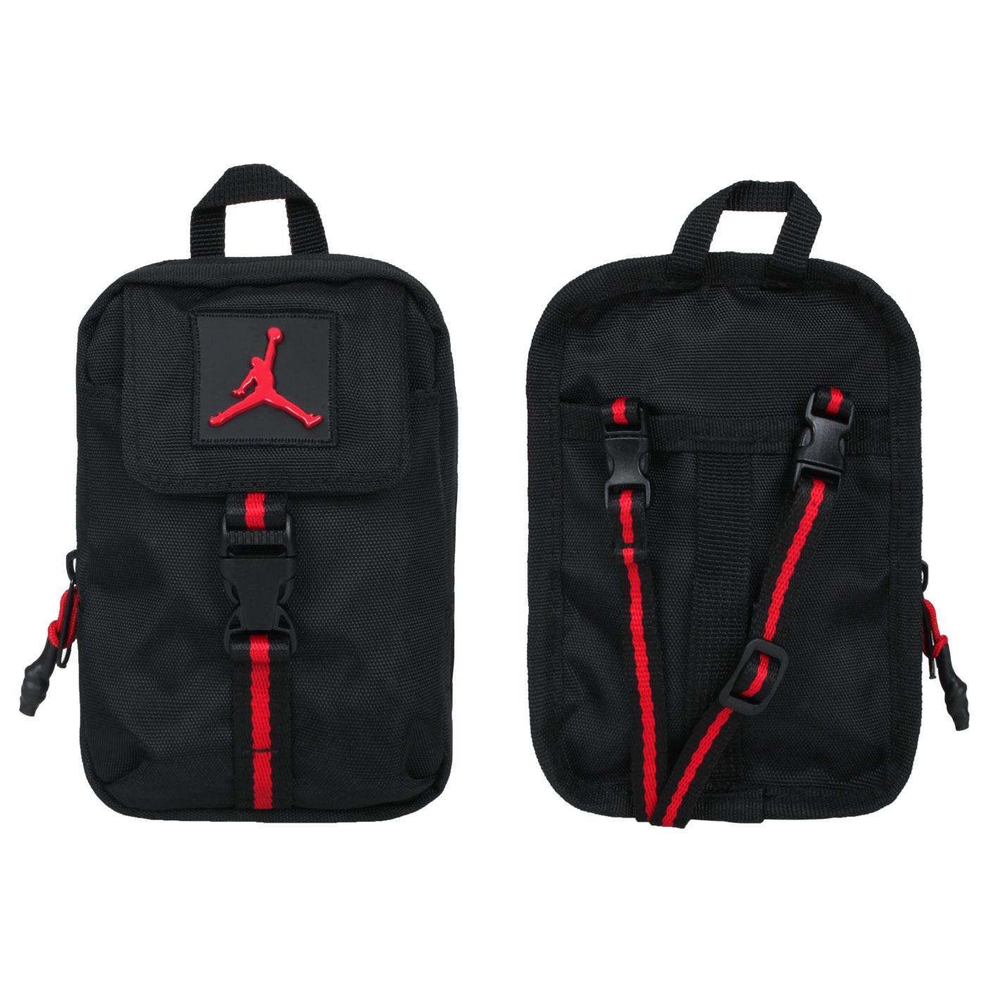 NIKE 小型卡包 JD2133028GS-001 - 黑紅